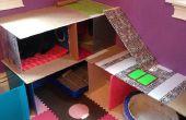 Casa de conejito hecho con aglutinantes de la vieja escuela y restos de madera!!!!