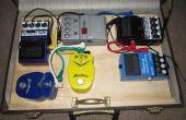 Guitarra Pedal Board maleta con almacenamiento
