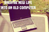Insuflar nueva vida a un ordenador antiguo