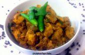 Pollo picante pimienta seta