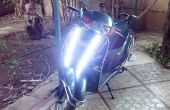 2-Wheeler/bici DIY LED DRL