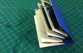 Expansión de tarjeta de felicitación de papel-corte