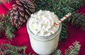 Blanca Navidad receta del Frappuccino