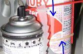 Soporte paja aerosol
