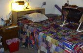 Hacer un marco de la cama con un montón de almacenamiento