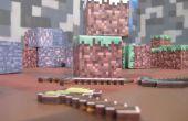 Cómo hacer un cubo de arte de mina de mundo real!