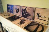Impresión de paneles de madera para tu casa (o cómo decorar tu casa como un nerd)