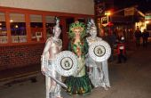 Medusa y estatuas Halloween trajes hechos a mano 2012