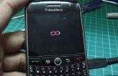 Blackberry 8900 curve cruzado batería icono fix