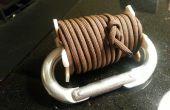 Paracord mosquetón PVC bobina