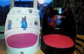 Crear sillas de desecho