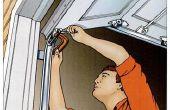 Como Tune-up su puerta de garaje