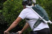 Montaje de cámara de pack de hidratación para GoPro