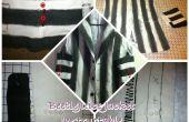 Chaqueta de BeetleJuice con traje aparejo