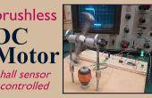 Sin escobillas motor eléctrico de CC (con sensor hall)