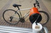 SudsCycle: Una bicicleta con motor lavadora (prototipo 1.0)