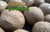 Guerrilla de jardinería - bombardeo estilo