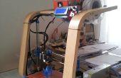 De un reposapiés Ikea para impresora 3D (Poang)!