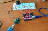 Gráfico de barras de nivel de temperatura con LM35 con Arduino