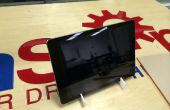 Laser-corte minimalista iPad soporte de aire