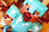 Traje de Minecraft DIY