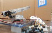 6 Arduino tiro goma Torreta (Wii Nunchuck + Arduino)