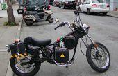 Fácil conversión de motocicleta eléctrica bricolaje