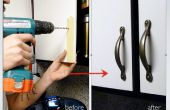 Instalación de puerta de gabinete de cocina se encarga de