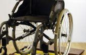 Rueda de la silla de ruedas secador