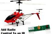 Agregar Radio a un helicóptero Syma S107 IR (o cualquier otro dispositivo de IR)