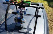Creación de cámara Gopro cardán con componentes Rc Hobby común Roll y Pitch inclinación funcionalidad