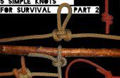 Habilidades rápidas #2: 5 nudos simples de supervivencia parte 2