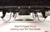 Cómo equipar el choque del tren de aterrizaje para su Drone