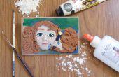 Arcilla artesanal con pintura