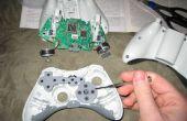 BRICOLAJE fijar el d-pad en el teclado de control de Xbox 360 (más que lijar)