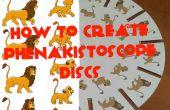 Cómo crear discos de phenakistoscope