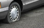 Cómo cambiar un neumático de coche