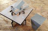 Láser corte molde Simple proyecto