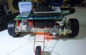 Un rover teléfono controlado (Edison Intel + Blynk + Arduino)