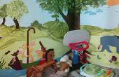 BRICOLAJE Cómo pintar un mural (Winnie the Pooh)