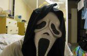 Hacer tu propia máscara de scream halloween gratis! ¿