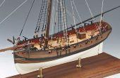 ¿Cómo hacer un barco de madera modelo?