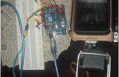 Moto Racer jugar mano robótica basados en Arduino