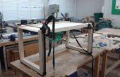 Resumen mesa de centro (tapa de tabla de madera reciclada)
