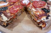 Torta de Pizza vegetal
