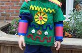 Espacio disfraces de Robot los niños de Halloween - (cuerpo completo)