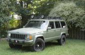 Cómo pintar tu jeep y un vehículo de asalto