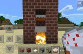 Cómo hacer una cocina pastel en Minecraft!