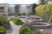 Jardín y patio trasero espacio