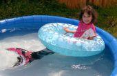 Cómo hacer una cola de sirena para nadar